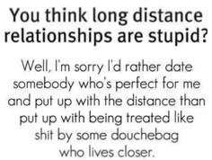❤Long distance relationship❤