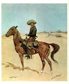 the mule pack frederic remington journal