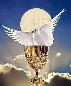 Sacramento, Pictures Of Jesus Christ, Jesus Art, Eucharist, Celestial, Holy Spirit, Catholic, Merry Christmas, Faith
