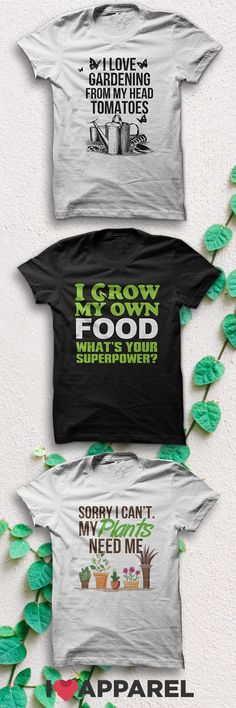 Buy Any 2 Items And Get FREE US Shipping. Check out our collection of gardening shirts. Dream Garden, Garden Art, Garden Ideas, Garden Shop, Organic Gardening, Gardening Tips, Gardening Quotes, Garden Inspiration, Style Inspiration