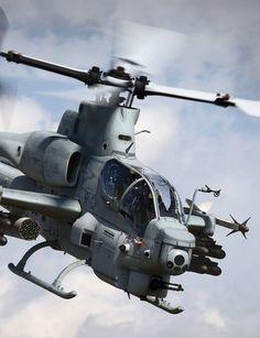 Bell AH-1 Cobra #helicopter #cobra #marines