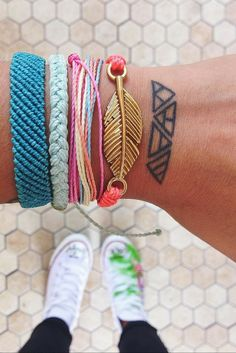 Pura Vida Bracelets are all handmade in Costa Rica.