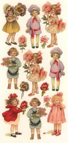 Herinnert u zich deze nog? * 1500 free paper dolls at Arielle Gabriel's The…