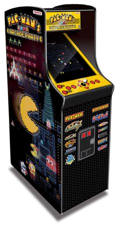 Relive the classic arcade action in a full-size cabinet with the Pac Man Arcade Machine. Unlike the older Namco Pac-Man Arcade Game, this version includes 13 Pac Man, Arcade Retro, Mini Arcade, Borne Arcade, Bartop Arcade, 21st Century Homes, Man Games, Hammacher Schlemmer, Arcade Machine
