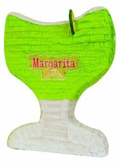 Margarita Glass Mexican Fiesta Pinata by Aztec Imports. $21.45. Our Margarita pinata is perfect for a Mexican fiesta! This pinata makes a great decoration and an even better party game. Dimensions: 17 x 14 x 4