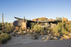 """The """"Scorpion House"""" is now on the market. 28023 N 96th Place, Scottsdale AZ"""