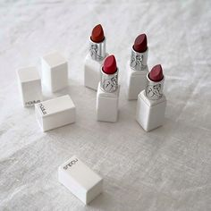 The lovely array of colours are handcrafted with beautiful certified organic ingredients. All colours are natural colours made from flowers, fruits, herbs and minerals. Shop our lipstick range at The Organic Project Gorgeous photo All The Colors, Minerals, Lipstick, Herbs, Range, Organic, Colours, Fruit, Natural