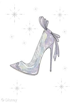Pin for Later: If Cinderella's Glass Slipper Were Designer, This Is What It Would Look Like The Sketch: Nicholas Kirkwood