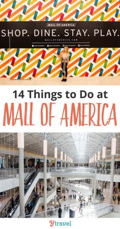 Things to do at Mall