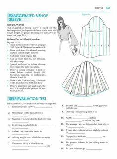 Pattern making for fashion design. Diy Clothing, Sewing Clothes, Clothing Patterns, Dress Patterns, Sewing Patterns, Pattern Cutting, Pattern Making, Pattern Drafting Tutorials, Sewing Sleeves