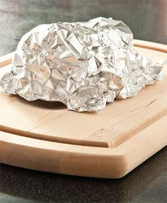 COMMON COOKING MISTAKES: Meat gets no chance to rest after cooking.