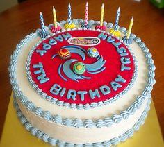 Idea for Hayden's 8th birthday party