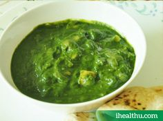 Palak is a good source of omega-3 fatty acids and is also rich in iron!