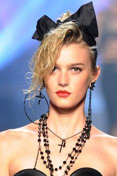 Accessory and Hair Inspiration For Your Next 80's Party!