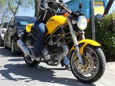 DUCATI MONSTER 600 en Madrid Ducati Monster 600, Motorcycle, Madrid, Motorcycles, Motorbikes