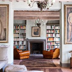 Interior designer Paola Navone used both modern and rustic elements in her restoration of a former Armani exec's centuries-old Tuscan villa.