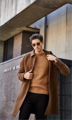 Кафяво късо палто 2017