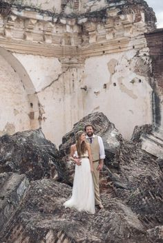 caitlin + jason   Annabelle Dress by Jenny Yoo for BHLDN   #BHLDNbride