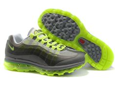 reputable site a8f7c eefd9 Best Nike Air Max 95 360 Green Gray Lady Shoes Air Max 95 Womens, Nike
