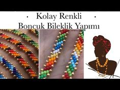 Beaded Bracelet Patterns, Beading Patterns, Beaded Bracelets, Beaded Necklace, Seed Bead Tutorials, Beading Tutorials, Bead Crafts, Jewelry Crafts, Jewelry Art
