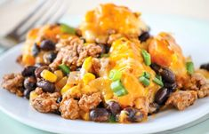Craving an insanely flavorful addition to your weeknight dinner menu? Check out this Simple Southwestern Casserole Recipe! Healthy Cook Books, Healthy Food Blogs, Easy Healthy Recipes, Healthy Cooking, Healthy Eating, Cooking Recipes, Beef Recipes, Yummy Recipes, Recipies