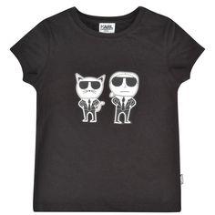 7c3cc9bff Check out KARL LAGERFELD Children Girls Team Karl T Shirt on Avoir Fashion!