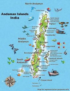 Andaman and Nicobar travel guide - Wikitravel Geography Map, Teaching Geography, Tourist Places, Places To Travel, Travel Destinations, Andaman Tour, Andaman And Nicobar Islands, India Travel Guide, Road Trip Adventure