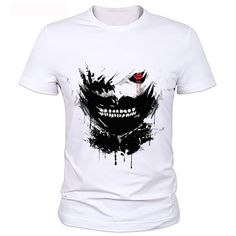 Tokyo Ghoul T-Shirts Available -There is so much gear out there when it comes to anime. T-shirts of just about every style and color. Backpacks that are well designed and very stylish. Countless Figurines to add to your collections for your favorite anime series. Armbands, Headbands, sweatpants, to name a few when it comes to putting together your work-out outfit.   #tshirts #tokyoghoul