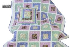 #patchwork #quilting #pillow #blanket