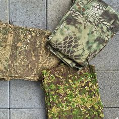 Kryptek Mandrake, Pencott Greenzone and Badlands; Helikon-Tex CPU Pants