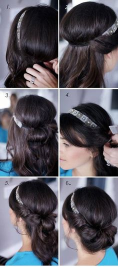 So Sexy and Easy Bun Hairstyle Tutorials For you  (6)
