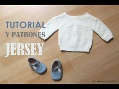 DIY Tutorial Jersey Princesa Charlotte (patrones gratis) - Oh, Mother Mine DIY! Knitting For Kids, Baby Knitting, Crochet Baby, Knit Baby Sweaters, Knitted Baby Clothes, Knitting Videos, Crochet Videos, Tricot Baby, Princesa Charlotte
