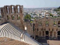 Amphitheater, Athens, Greece