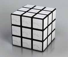 Braille Rubik's Cube for the blind