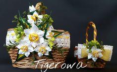 #diy #handmade #art #artist #beauti #beautifull #ozdoba #rękodzieło #beautiful #dekoracja #wielkanoc #święta #koszyczek #satin #satinribbon #satinribbons #kanzashi #kanzashiflowers #kwiaty #święconka #hobbys #hobby