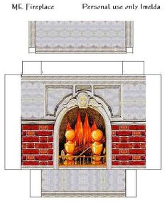 Dollhouse Fireplace