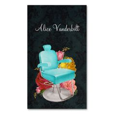 Vintage Shabby Damask Salon Chair Stylist Card Double-Sided Standard Business Cards (Pack Of 100). This great business card design is available for customization. All text style, colors, sizes can be modified to fit your needs. Just click the image to learn more!