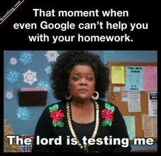 The Lord Is Testing Me ? | Click the link to view full image and description : )