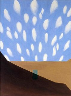 Georgia O'Keeffe - In the Patio VIII, 1950