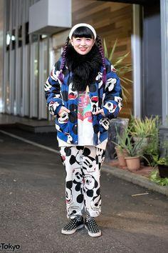 Mickey Mouse Bomber Jacket in Harajuku