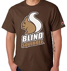 Blind Squirrel Clip Art