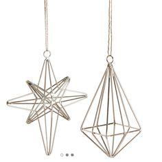Christmas star and diamond  i will makes this!