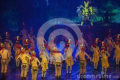 Hangzhou City, Zhejiang Province, Songcheng China, large-scale song and dance drama Songcheng eternal love