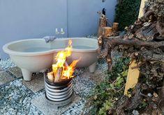 #hottub #weltevree #openfire #rebstöcke #tinyhouse #bathtub #outdoorbadewanne #badewanne #outdoorliving Open Fires, Outdoor Living, Outdoor Decor, Tiny House, Bathtub, Hot, Home Decor, Modern Cottage, Bath Tube