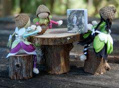 Miniature maison de poupée  mobilier de par CaseysCreativeCorner