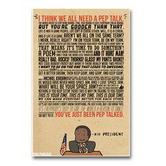 Kid President - Pep Talk Poste | Maker Shop