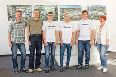 Vier neue Auszubildende bei Hermes Fulfilment in Ohrdruf - http://www.logistik-express.com/vier-neue-auszubildende-bei-hermes-fulfilment-in-ohrdruf/