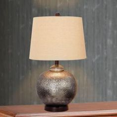 Superb Fangio Lighting 24 In. Antique Brown Mercury Glass And Oil Rubbed Bronze  Metal Table Lamp Ideas