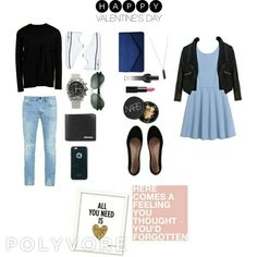 Fresh Blue Date Outfit
