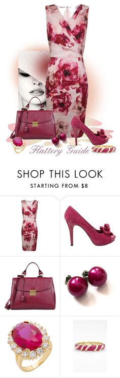 """""""Karina"""" by flattery-guide ❤ liked on Polyvore featuring Blumarine, Kaliko, Steve Madden, Marc Jacobs, Retrò and Sequin"""